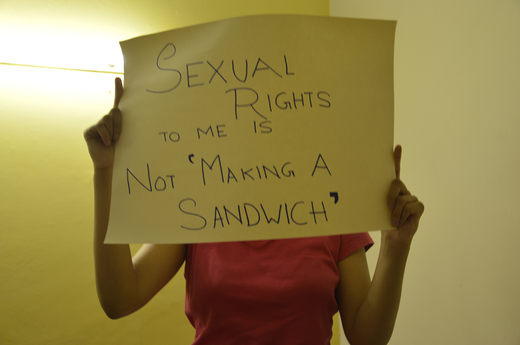 WHAT DO SEXUAL RIGHTS MEAN TO ME?