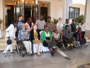 Members and guests at meeting of Coalition For Disability, Gender, Sexuality & Rights In Africa, 07-09/07/2014 in Lilongwe, Malawi