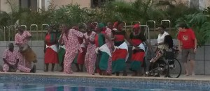 The Malawian Dance Company – with assistants!