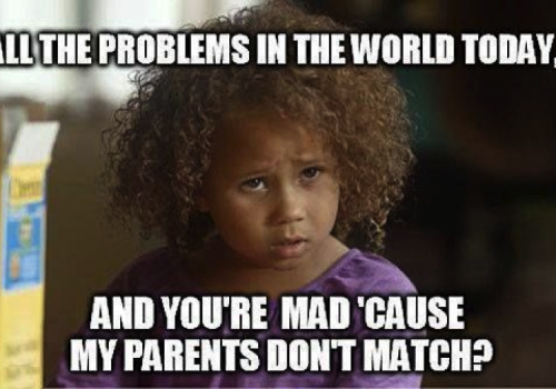 Picture of a child with curly hair