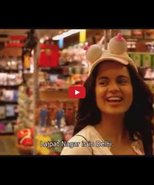 In Plainspeak English Audit In Plainspeak English Audit 100% 10 Still from the film 'Queen'. Kangana Ranaut in an aisle in a convenience store. Screen reader support enabled. Still from the film 'Queen'. Kangana Ranaut in an aisle in a convenience store.