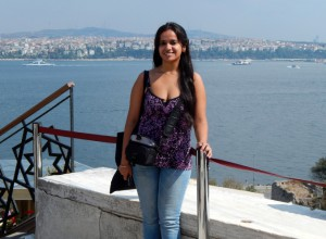 Embarking on my first true solo trip in Istanbul; nervous, excited, scared, exhilarated are some of the words that can describe what I felt at that time. At the Topkapi Palace and the Prince Islands in my background, September 2013