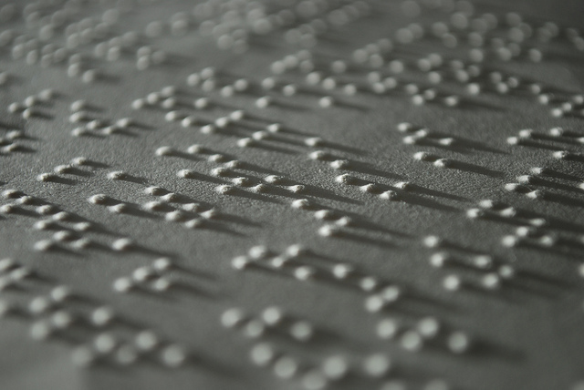 Braille text.