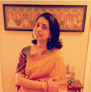 Outfit of the day: pairing a blouse with Kutch embroidery with a silk saree