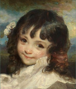 In Plainspeak: What, exactly, is the child innocent of?: Detail from 'Lady Smith and Her Children' (1787) by Sir Joshua Reynolds