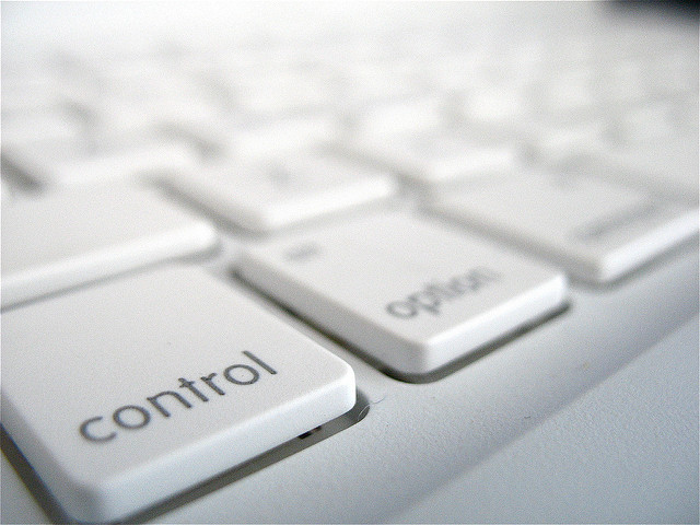 Its an image of keyboard's control key.