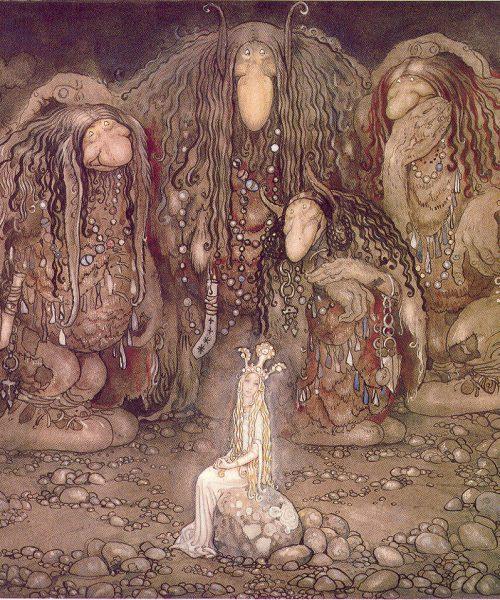 'trolls' from norse mythology