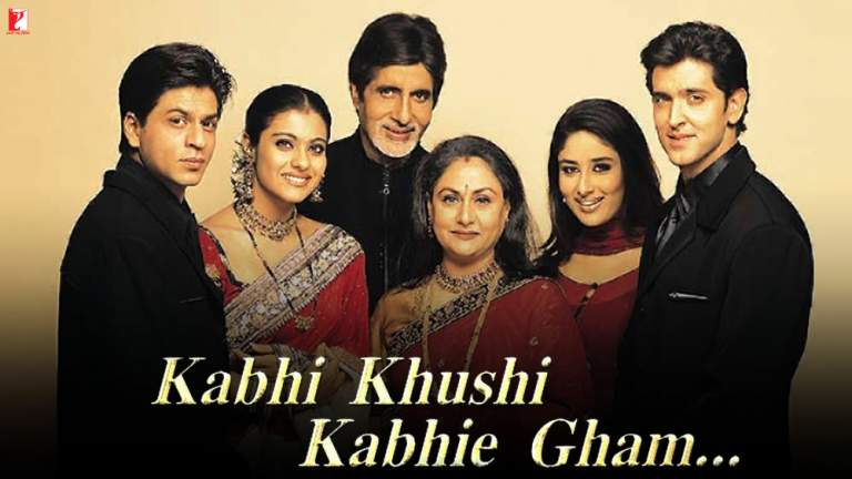Poster for the film Kabhi Khushi Kabhi Gham