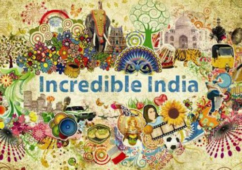 An image showcasing the vibrance and diversity in Indian culture