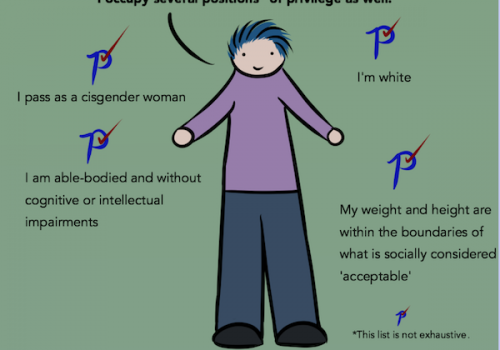 excerpt from webcomic on privilege