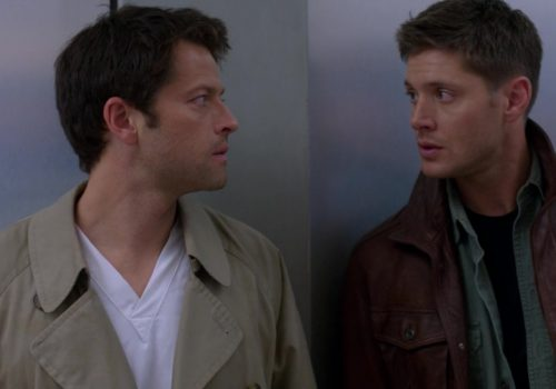 Still from the popular show Supernatural