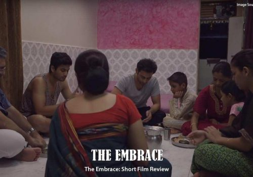 "Still from short film, ""The Embrace"""