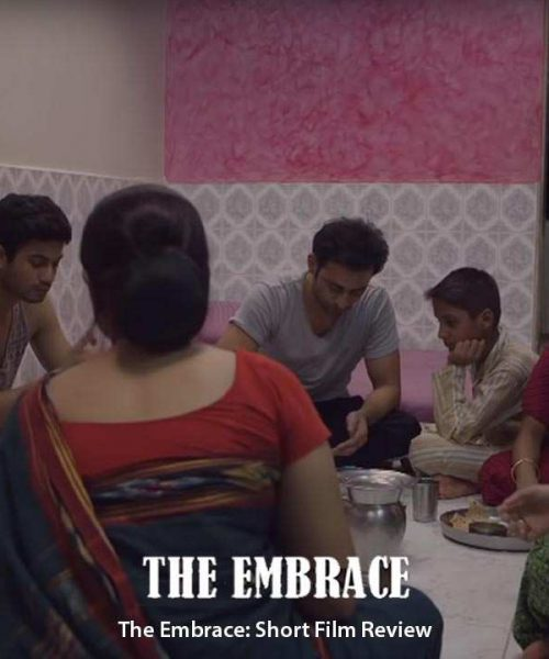 """Still from short film, """"The Embrace"""""""