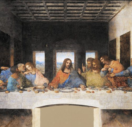 An image of the last supper