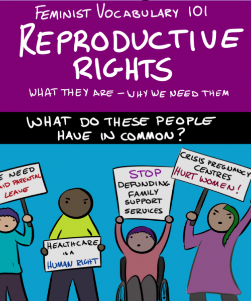 excerpt from robot hugs' comic on reproductive rights