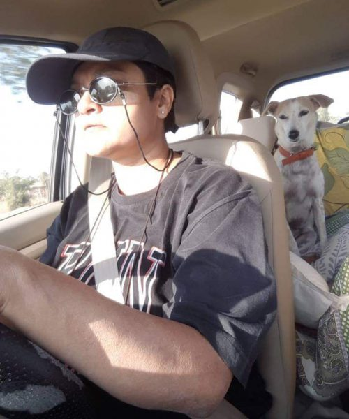 Shikha Aleya writes about her experiences with panic attacks, and travelling with her dog Dusty