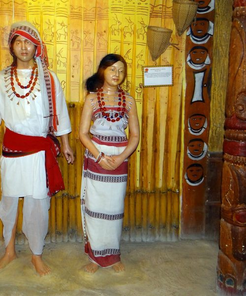 Picture of a Manipuri couple
