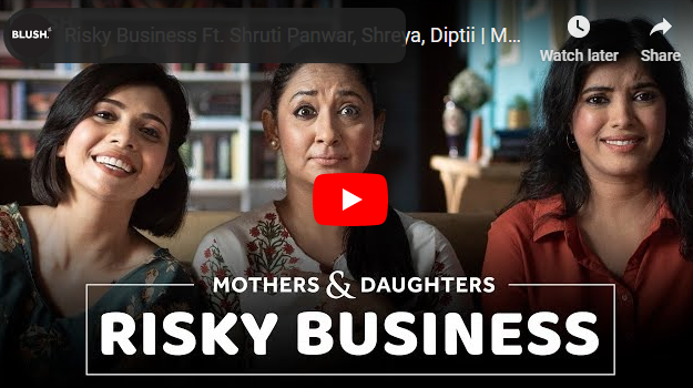 risky business: picture of a mother with her two daughters