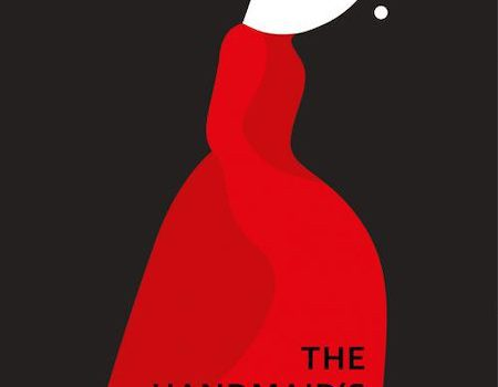 book cover for handmaid's tale