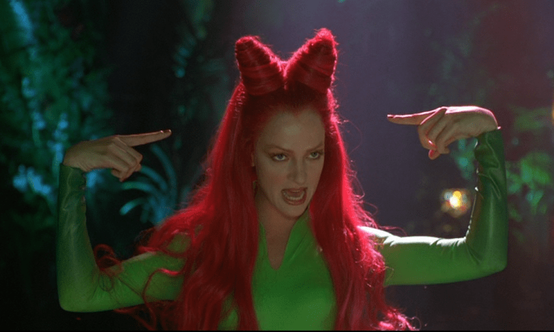 A still from the film Batman & Robin