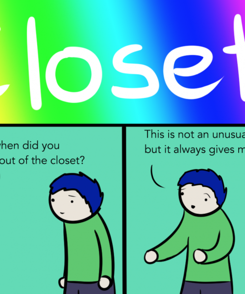 A part of the webcomic 'Closets'